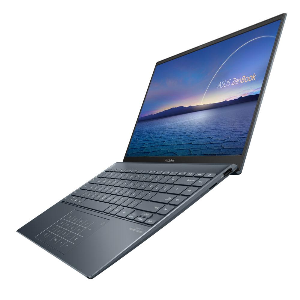 ASUS ZenBook 14 - UX425 - Pine Grey - NanoEdge display for immersive experience